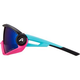 Alpina 5W1NG CM+ Glasses, rosa/Turquesa